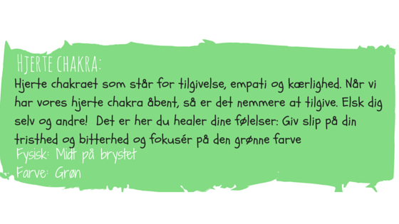 Chakra øreringe med grøn swarovski hjerte chakra