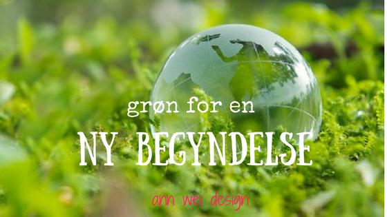 grøn for en ny begyndelse