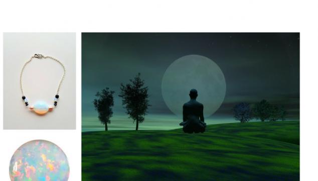 Ønsker du at blive opløftet med en måne meditation?