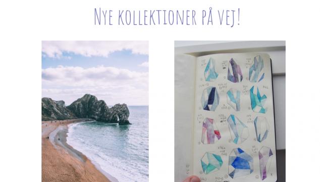 Fra idè til færdige smykker: Nye kollektioner på vej!