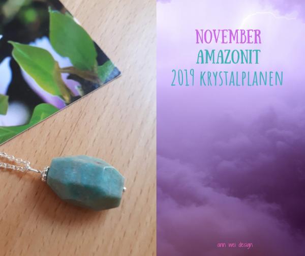 Amazonit halskæde