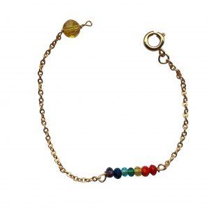 Chakra armbånd 7 farver