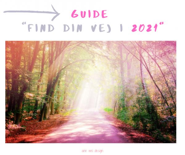 GUIDE - FIND DIN VEJ I 2021